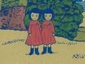 Twings in Koishikawa Botanical Gardens/小石川植物園の双子
