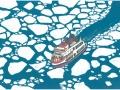 Icebreaking-ship