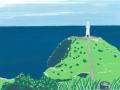 長崎福江島(大瀬崎灯台)
